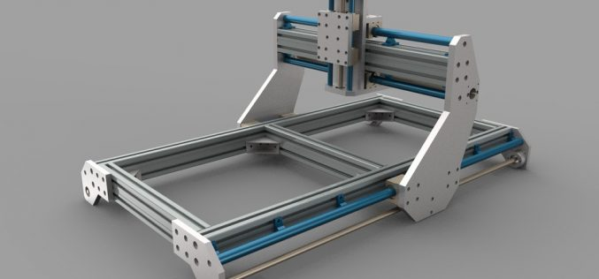 CNC routers, materials and 3D models