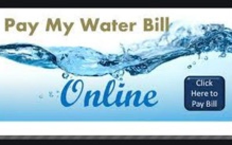Online water bill payment – fast and handy